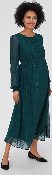 Zielona sukienka YESSICA z tiulu