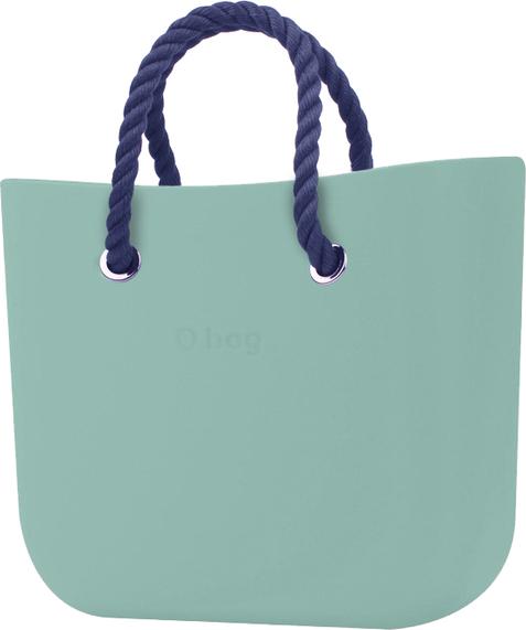 Zielona torebka O Bag do ręki matowa