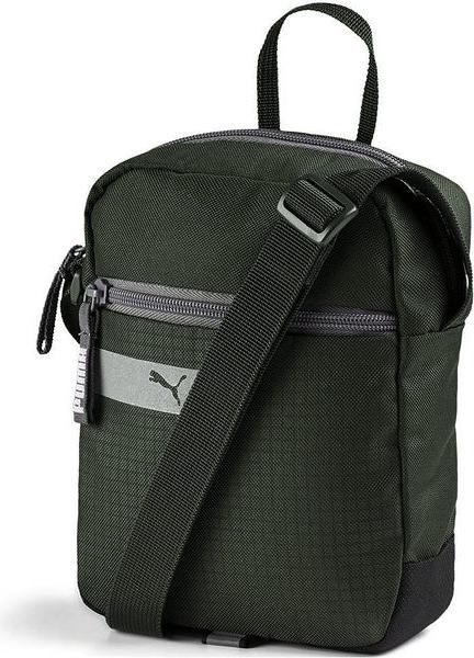 Zielona torebka Puma średnia przez ramię w sportowym stylu