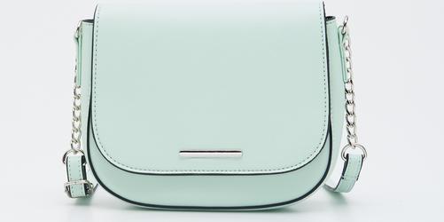 Zielona torebka Sinsay średnia matowa