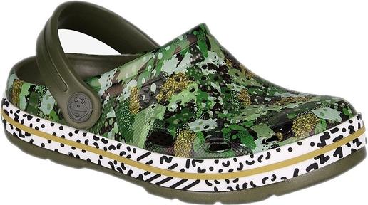 Zielone buty dziecięce letnie Coqui