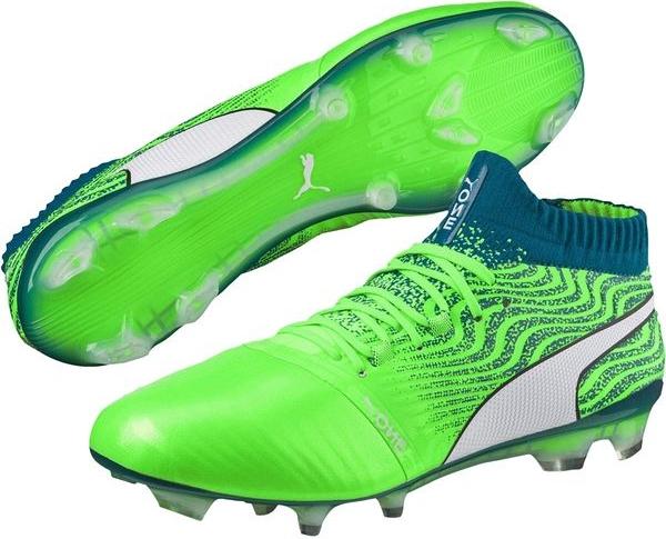 Zielone buty sportowe Puma