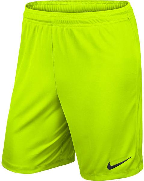 Zielone spodenki Nike z nadrukiem