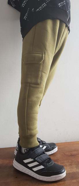 Zielone spodnie dziecięce LeMika