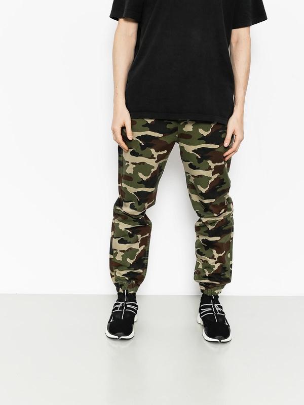 Zielone spodnie Massdnm w militarnym stylu