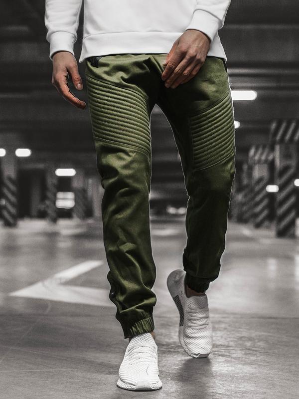 Zielone spodnie Ozonee w młodzieżowym stylu