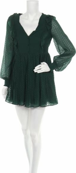 Zielony kombinezon Zara Trafaluc