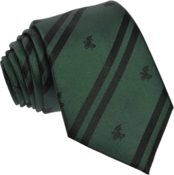 Zielony krawat Republic of Ties z wełny