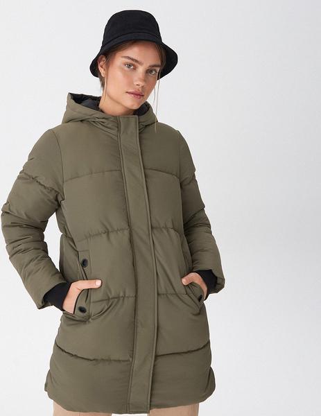 Zielony płaszcz House