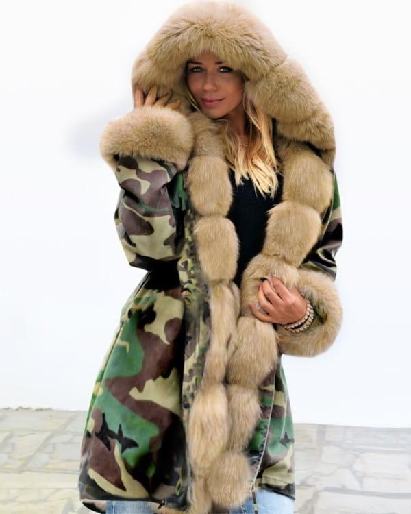 Zielony płaszcz Kendallme w stylu casual