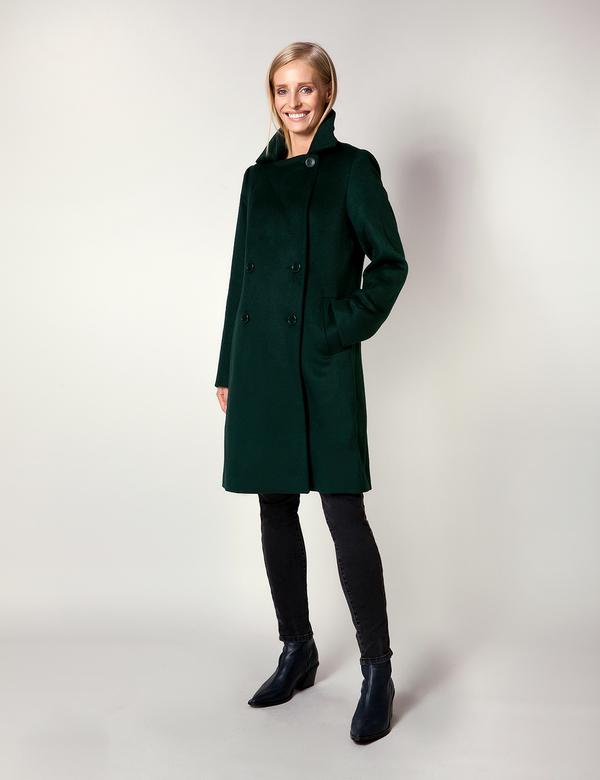 Zielony płaszcz Molton