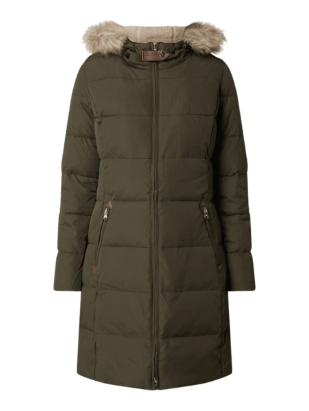 Zielony płaszcz Ralph Lauren