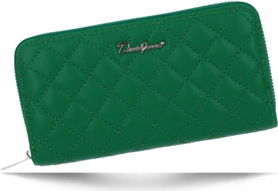 Zielony portfel David Jones