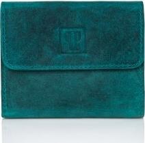 Zielony portfel Paolo Peruzzi