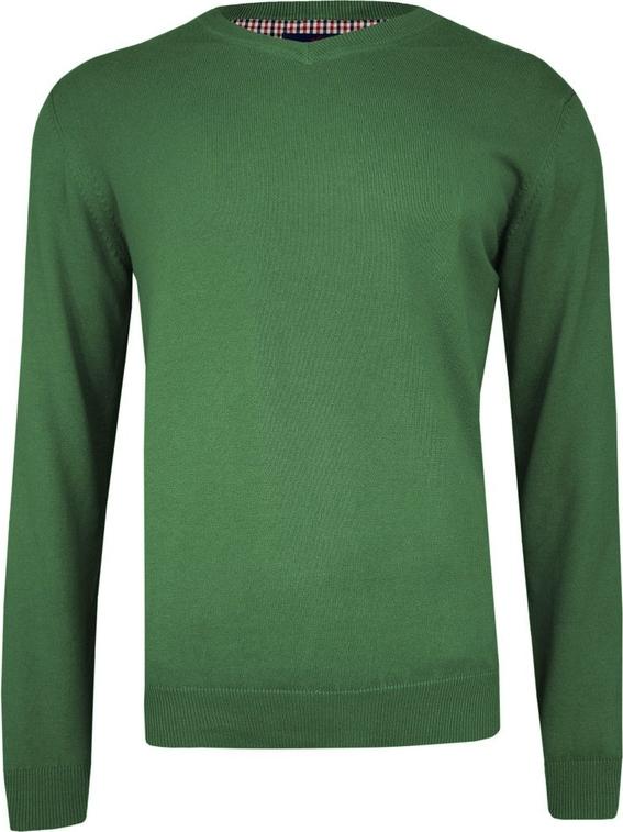 Zielony sweter Adriano Guinari