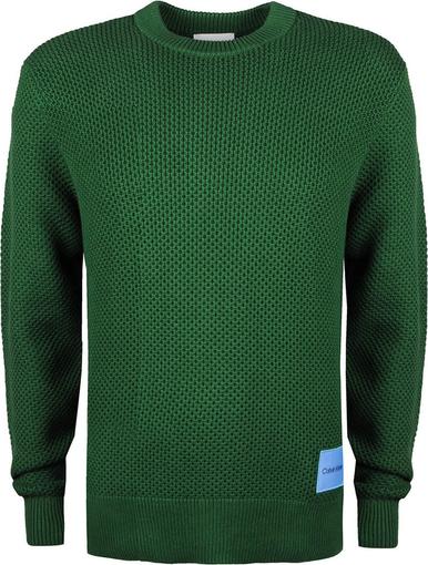Zielony sweter Calvin Klein