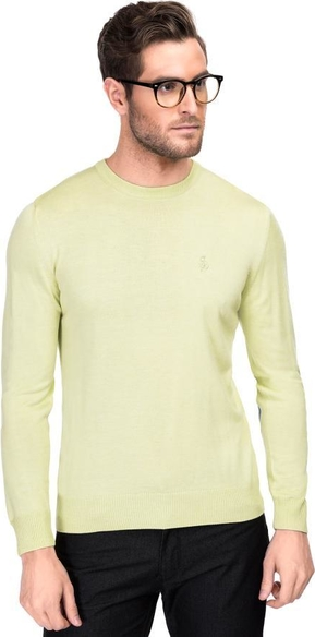 Zielony sweter giacomo conti