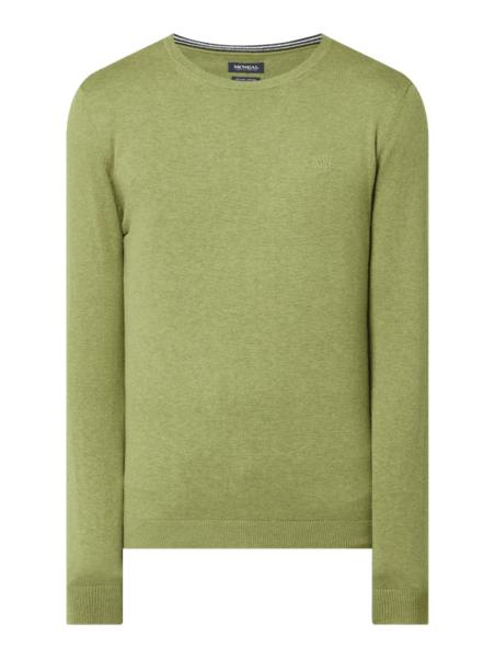 Zielony sweter McNeal w stylu casual
