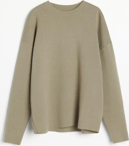 Zielony sweter Reserved w stylu casual