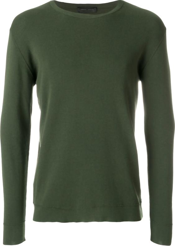 Zielony sweter Roberto Collina