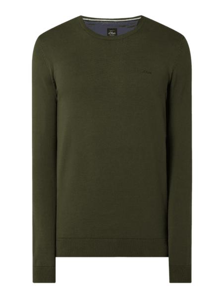 Zielony sweter S.Oliver Red Label w stylu casual