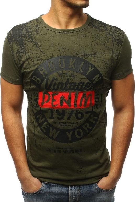Zielony t-shirt Dstreet