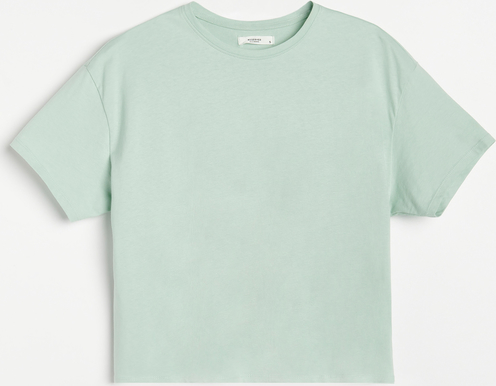 Zielony t-shirt Reserved