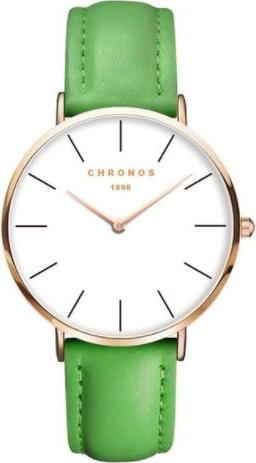 Zielony zegarek chronos