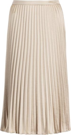 Złota spódnica DKNY midi
