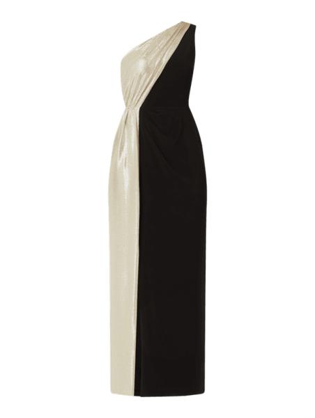 Złota sukienka Ralph Lauren maxi bez rękawów