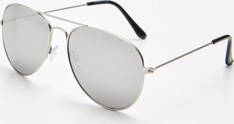 Złote okulary damskie Cropp