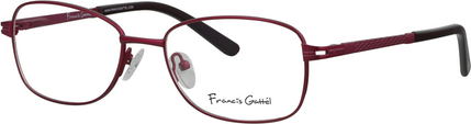 Złote okulary damskie Francis Gattel Akcesoria Damskie Okulary damskie AZ GHWFAZ-8 trwałe modelowanie