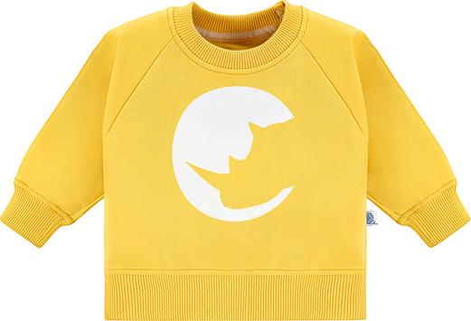 Żółta bluza dziecięca Tuszyte dla dziewczynek