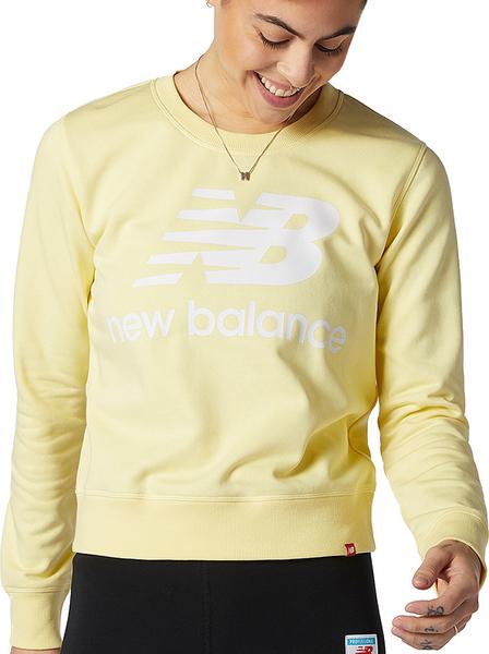 Żółta bluza New Balance w sportowym stylu