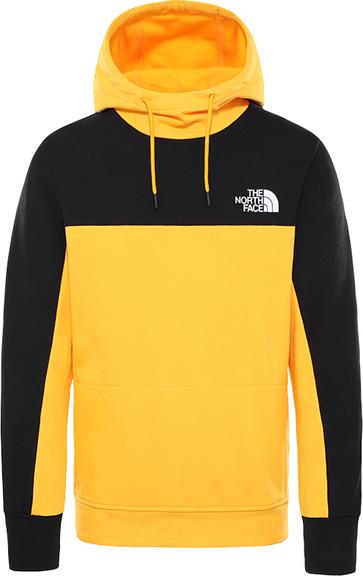 Żółta bluza The North Face z plaru
