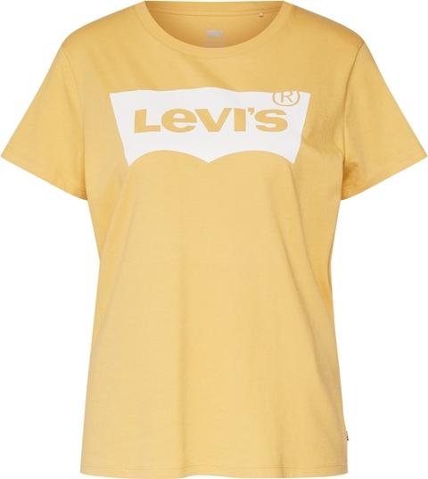 Żółta bluzka Levis z krótkim rękawem