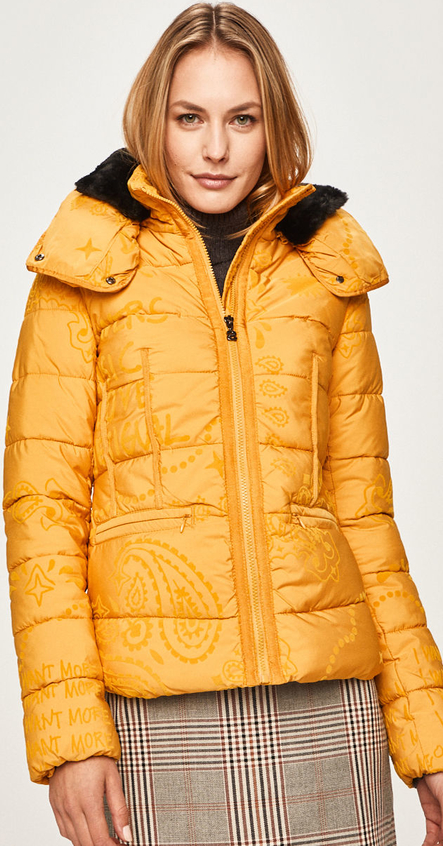 Żółta kurtka Desigual