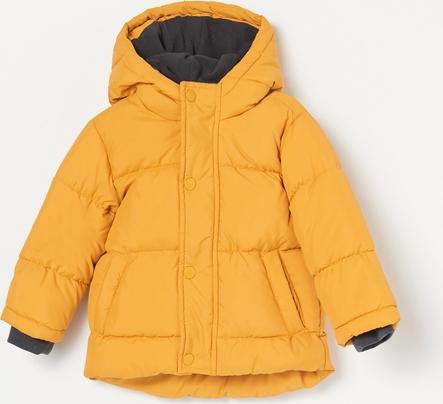 Żółta kurtka dziecięca Reserved dla chłopców