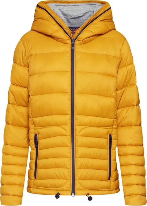 Żółta kurtka edc by Esprit krótka