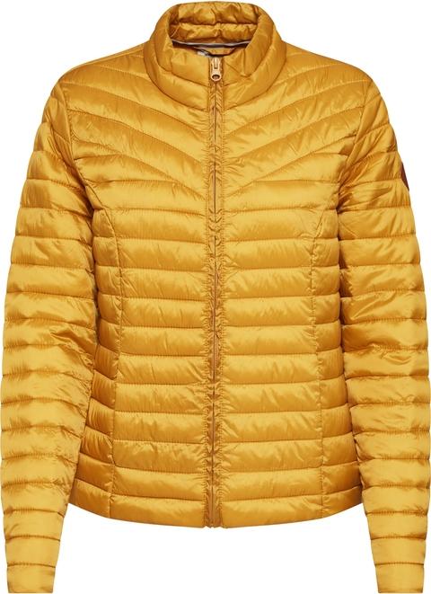 Żółta kurtka JACQUELINE DE YONG w stylu casual krótka