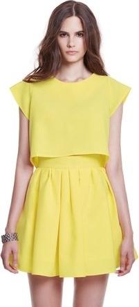 Żółta spódnica Kozacki Mops