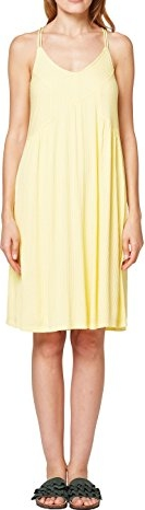Żółta sukienka amazon.de w stylu casual mini