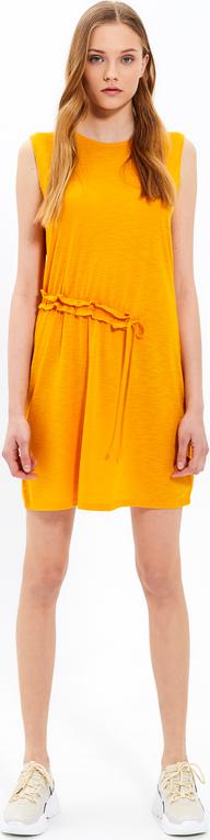 Żółta sukienka Gate mini