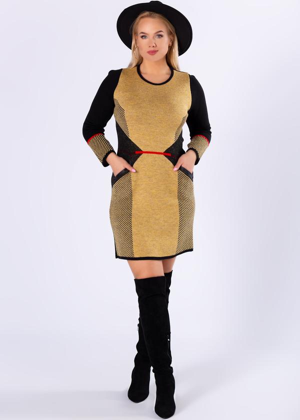 Żółta sukienka Ptakmoda.com z bawełny w stylu casual mini