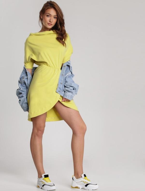 Żółta sukienka Renee mini