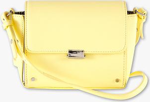 Żółta torebka CLOCKHOUSE mała na ramię