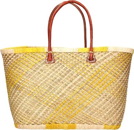 Żółta torebka Glamour w wakacyjnym stylu