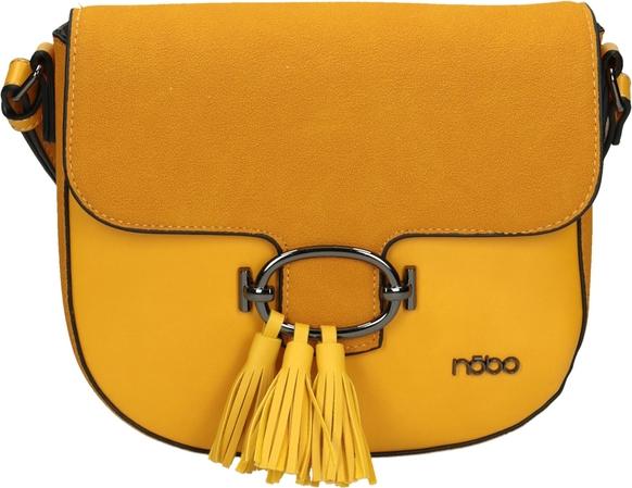 Żółta torebka NOBO średnia