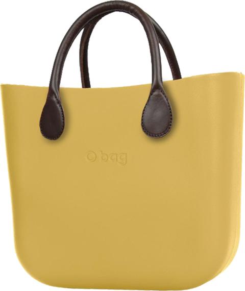 Żółta torebka O Bag w wakacyjnym stylu matowa