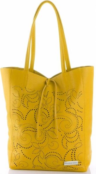 Żółta torebka VITTORIA GOTTI